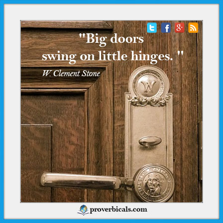 Quotation about Doors