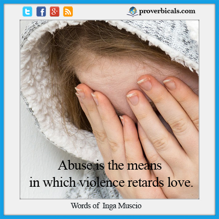 Saying about Abuse
