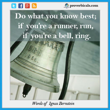 Saying about Bells