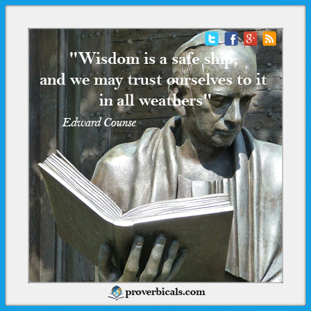 Saying about Wisdom