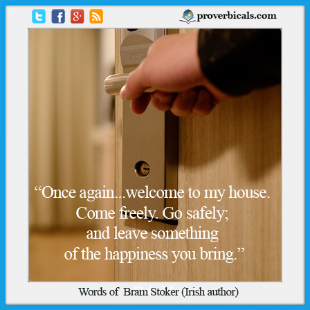 Welcome quote