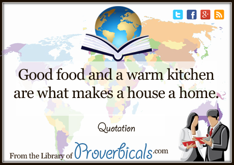 Saying about Kitchen