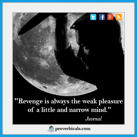 Saying about Revenge