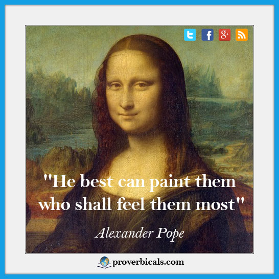 Favorite saying about painting