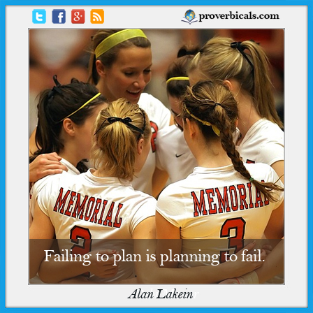 Saying about Planning