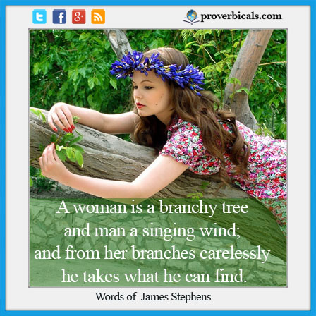 Saying about Branches