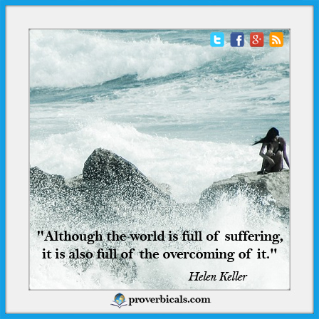 Saying about Suffering