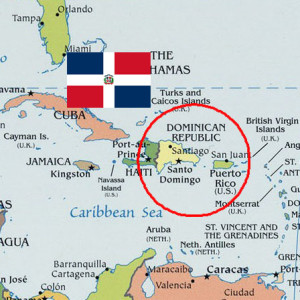 Map of Dominican