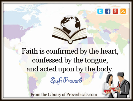 Saying about Faith