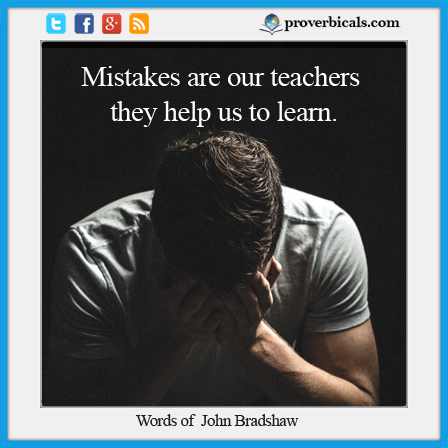 Mistakes Proverbs
