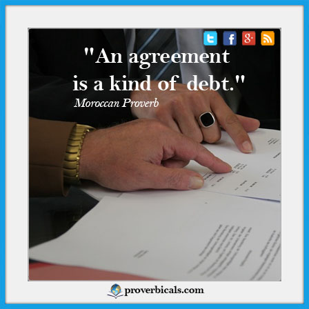Agreement Proverbs