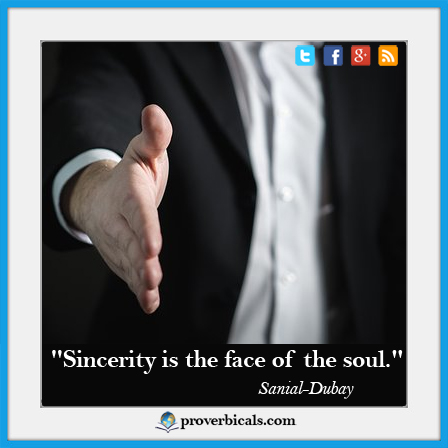 Favorite quote on Sincerity